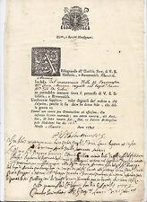 M209-MILANO-1722 RICHIESTA FEDE DI MATRIMONIO
