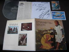 I Pooh Parsifal Japan Vinyl LP with Signed Card Post Cards of Eros Ramazzotti