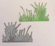 Metal Cutting Die Suitable for Sizzix Cuttlebug die cutting machines - Grass
