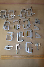 Lot Of 15 Universal HD Camper/Canopy Shell Topper Aluminum Clamp Bracket #1863