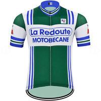 LA REDOUTE MOTOBECANE RETRO Cycling BIKE Jersey Shirt Tricot Maillot
