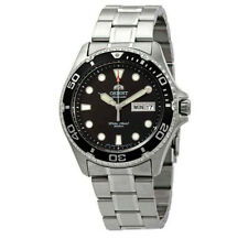 Orient FAA02004B Ray II Automatic Black Dial Stainless Steel  Mens Diver Watch
