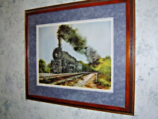 "Constance Legler Smith signed limited edition ""Santa Fe 2929"" steam locomotive"