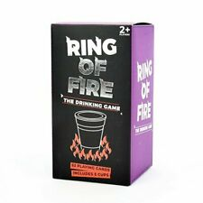 Gift Republic Ring Of Fire Adult Drinking Party Game 52 Playing Card Game