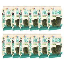 Organic Kimnori Seasoned Roasted Seaweed Snacks - 4g X 12 Pack (48g) Kim Nori -