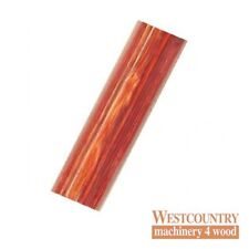 Charnwood Coloured Wood Pen Blank 20mm x 20mm x 130mm Red