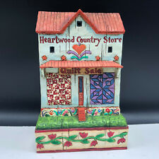 ENESCO JIM SHORE HEARTWOOD figurine statue Country Store 8 eight on point shop