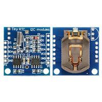 I2C RTC DS1307 Real Time Clock Zeit Uhr Module Echtzeituhr (Ohne Batterie)A+