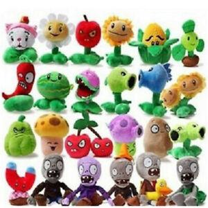 Plants Vs. Zombies PVZ Zombie Shooter Chomper Soft Plush Doll Kids Toy Gift
