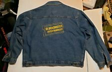 VTG Rare Blockbuster Entertainment Men's XXL Denim INTERNATIONAL Jean Jacket