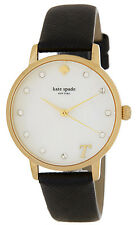 kate spade new york Women's Metro Monogram T Mother Of Pearl Watch NWT $195