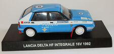 IXO DE AGOSTINI LANCIA DELTA HF INTEGRALE 16V 1992 1/43 POLIZIA POLICE ITALIENNE