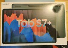 Samsung Galaxy Tab S7+ 128GB, Wi-Fi, 12.4 in, Mystic Black - Excellent Condition
