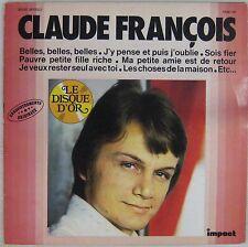 Claude François 33 tours Le Disque d'Or Impact 6886 107