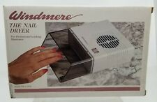 Windmere Electric Nail Dryer Acrylic Shield Professional Looking Manicure