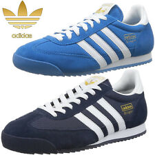 Mens Adidas Originals Dragon Trainers Retro Sports Running Shoes Size
