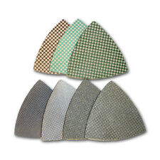 "3"" Triangle Diamond Polishing Pads - Set of 7 pcs"