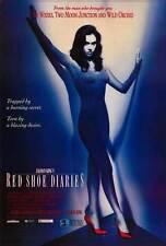 RED SHOE DIARIES Movie POSTER 27x40 B David Duchovny Billy Wirth Brigitte Bako