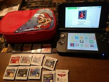 Nintendo 3DS XL Handheld Console - Blue/Black 14 games Case and Charger
