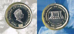 British Antarctic Territory- 1 pound - Climate Change - 2020 - bimetal