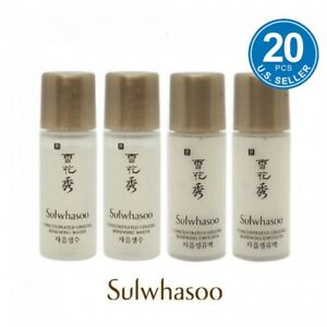 Sulwhasoo Concentrated Ginseng Renewing Water 5ml x 10pcs Emulsion 5ml x 10pcs