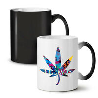 Cosmos Weed Leaf Rasta NEW Colour Changing Tea Coffee Mug 11 oz | Wellcoda