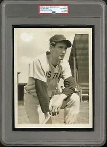 Ted Williams c.1940s PSA/DNA Type 1 Original Press Photo Red Sox Early
