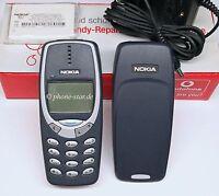 ORIGINAL NOKIA 3310 NHM-5NX HANDY RETRO MOBILE PHONE WAP SWAP NEU NEW BOX BLC-2