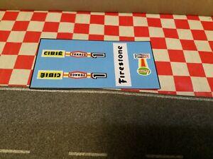 Matchbox Speedkings  K-45 Maraud race car  Set of Stickers  NO CAR