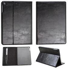 LUXURY Custodia Tablet per Apple iPad 2/3/4 CUSTODIA COVER CASE STAND NERO