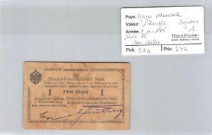 Deutsch-Ostafrikanische Afrique Allemande 1 Roupie 1.11.1915 n° 0432  Pick 9Ab