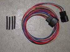 Ford EFI 5.0L 5.8L MAF OBD-I Extension Harness Wire Plug - 4 Terminal Oval