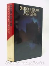 COLIN DEXTER Service of All the Dead 1979 1st US ed HB DW INSPECTOR MORSE