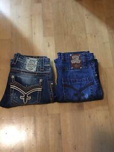Rock Revival Zwei Jeans Gr. 31
