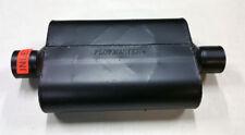 """SALE Flowmaster Super 44 Muffler 2.5"""" Center Inlet / Center Outlet (13"""" Long)"""