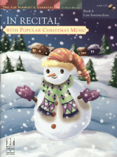 In Recital with Popular Christmas Music, Book 6 - Piano Songbook FJH1766