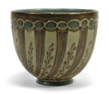 Rookwood Pottery Hentschel art deco squeezebag floral coup shape vase 1926