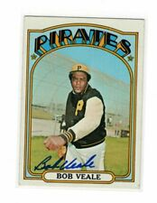 1972 Topps Bob Veale Auto Signed Card #729