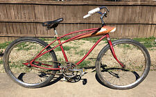 Vintage Spaceliner Bicycle Low Rider Cruiser Drag Bicycle BMX Mid Century 24""