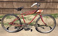 """Vintage Spaceliner Bicycle Low Rider Cruiser Drag Bicycle BMX Mid Century 24"""""""