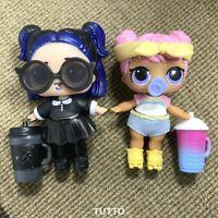 2x Dawn Doll & Dusk Big Sister Set Confetti Pop Series 3 Rare Toys