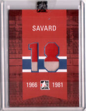 2008-09 ITG Bleu Blanc et Rouge Raised to the Rafters Red Serge Savard 1/1