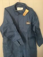 VtG GREAT LAKES FLEET COVERALLS SIZE 56 Union Made USA Euclid Chief Ship Blue