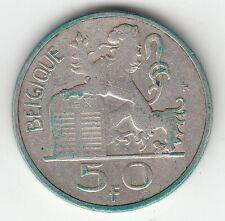 MONNAIE 50 FRANCS 1949  BELGIE ARGENT SYLVER