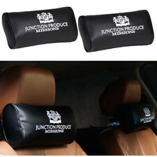 2x JP JUNCTION PRODUCE VIP Style Car Neck Pillow Headrest Neck Rest Cushion