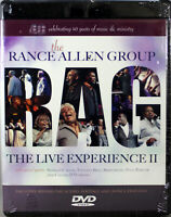 The Rance Allen Group RAG The Live Experience II NEW Music DVD Christian Gospel