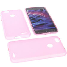 Case for Medion Life E5008 Cell Phone Pocket Cases TPU Rubber Case Pink