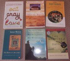 Lot of 6 ~ OPRAH'S BOOK CLUB + BESTSELLERS ++ FICTION