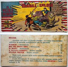 Striscia IL PICCOLO SCERIFFO IIª Serie N 65 TORELLI 1953