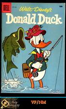 WALT DISNEY'S DONALD DUCK #54 VF/NM 9.2 (1957) DELL SILVER  AGE BARKS!